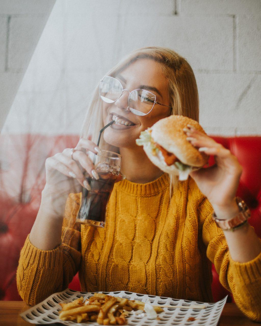 ジャンクな飲食の習慣